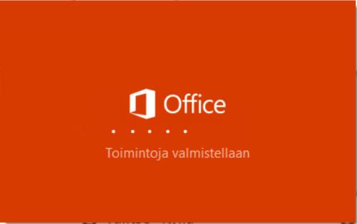 Office 365 Asennus
